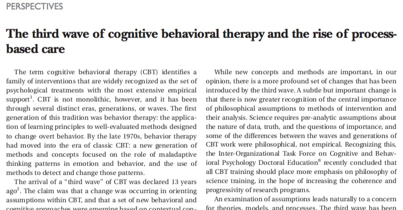 Cognitive Behavior Therapy Basics And Beyond Pdf